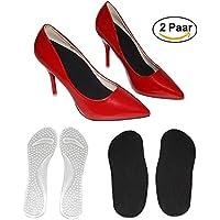 Soft Gel 3/4 Einlegesohlen Gel Kissen Einlegesohlen für High Heel Schuhe, Sandalen, Stiefel Fersen Pad für Schmerzlinderung... preisvergleich bei billige-tabletten.eu