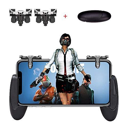 ame Controller, Handy Game Controller Sensitive Schießen und Zielen Tasten L1R1 Trigger Tasten für PUBG/PUBG Mobile/Messer Out/Regeln des Überlebens Unterstützen Android und iOS ()