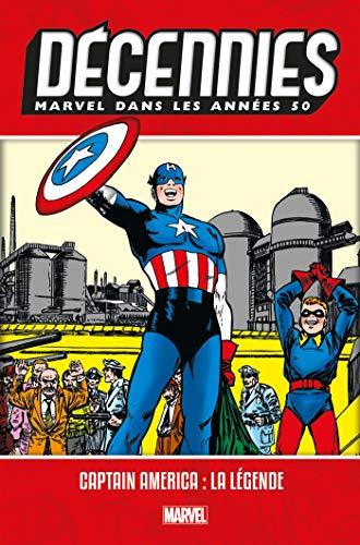 Décennies: Marvel dans les Années 50 - Captain America par Don Rico,Mort Lawrence,Romita Sr, John