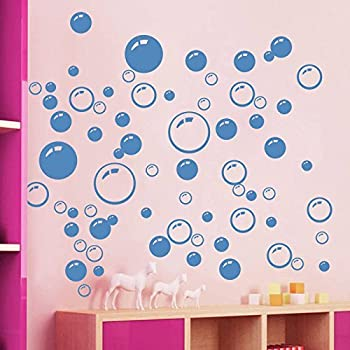 86 Bubbles Bathroom Window Wall Art Decoration DIY Sticker DIY Decals  Removable Living Room Bedroom Bathroom Part 30