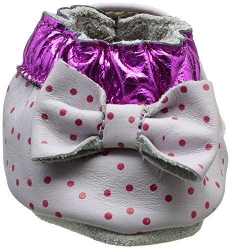 Robeez Cupe Cake Unisex Baby Krabbel- & Hausschuhe Violett (VIOLET CLAIR)