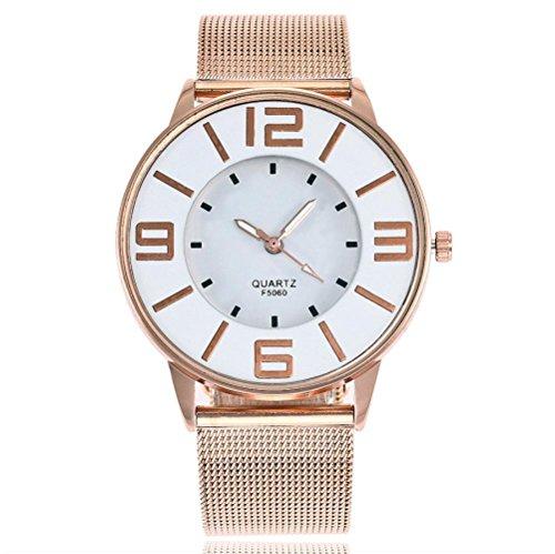 f74d0d11bbdb Relojes de Pulsera de Reloj de Correa de Mármol de Banda de Acero  Inoxidable de Cuarzo