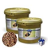 Lyra Pet Dog 2 x 4 kg Adult Light im Eimer Premiumfutter Hundefutter + Geschenk