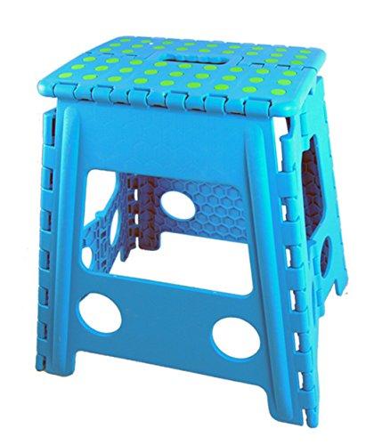 Hellblau ,Klapphocker Hocker Stufentritt Trittstufe Tritthocker Klapptritt b.150kg