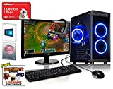 ADMI GAMING PC With Monitor, Headset, Keyboard & Mouse - AMD A8-7650K Quad