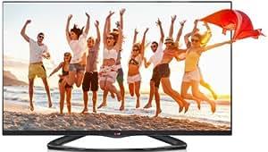 "LG 55LA6608 TV LCD 55 "" (139 cm) LED 1080i, 1080p, 720p pixels Noir Classe a_plus"