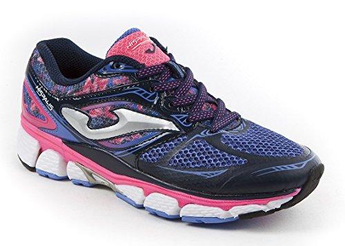 JOMA R.HISPALIS LADY 603 MARINO-FUCSIA - Zapatillas para correr para mujer, color marino, talla 38