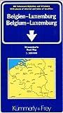 Belgien / Luxemburg 1 : 300 000. Straßenkarte. Mit Sehenswürdigkeiten und Ortsindex. (International Road Map) - Kümmerly + Frey
