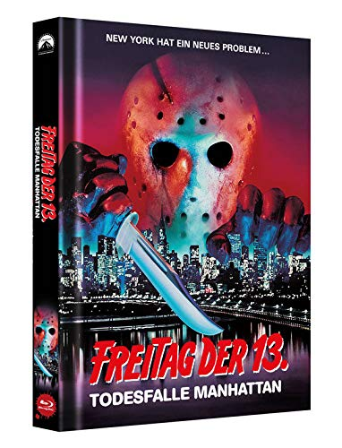 Freitag der 13. Teil 8 - Collectors Edition Mediabook (Cover B) [Blu-ray]