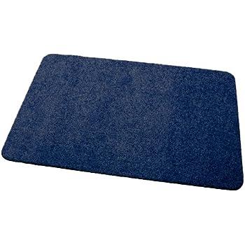 blau 30x50 cm Schmutzfangmatte Deko-Matten-Shop Fu/ßmatte Olefin rechteckig in 16 Gr/ö/ßen und 5 Farben