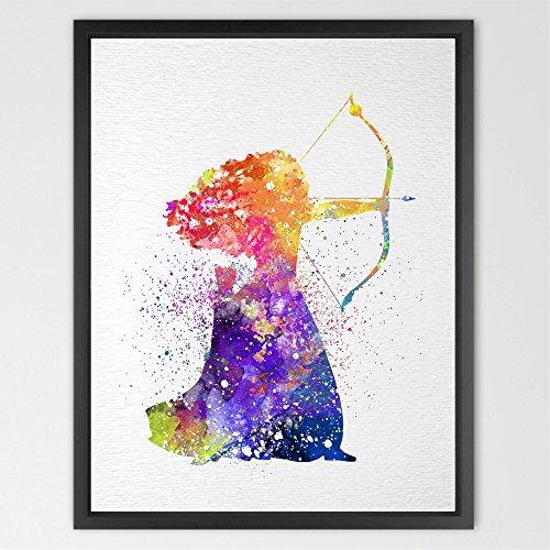 dignovel-studios-a4-brave-merida-watercolour-illustration-art-print-kids-watercolour-print-nursery-d