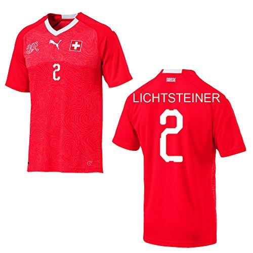 Puma Schweiz Trikot Home Kinder WM 2018 - LICHTSTEINER 2, Größe:164