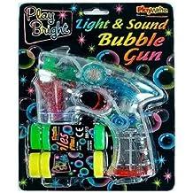 Luz y Sonido Burbuja Pistola