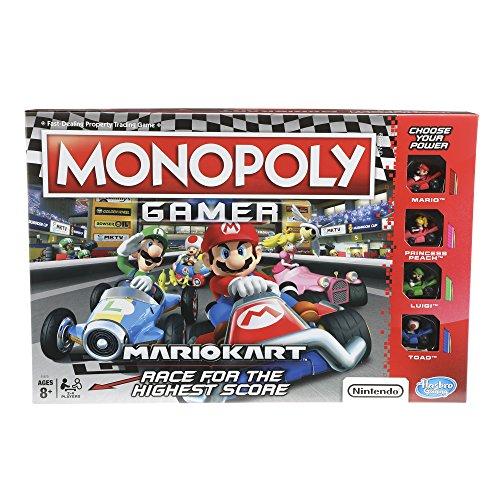 Hasbro Monopoly Gamer Mario Kart Edition Juego De