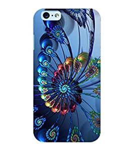 ColourCraft Printed Design Back Case Cover for APPLE IPHONE 6
