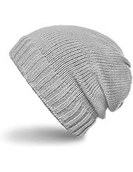 CASPAR - Bonnet en tricot classique unisexe - Beanie - plusieurs coloris - MU084