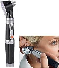 Professionelles Diagnoseset für medizinische Ohrenpflege, LED-Otoskop, hochwertige Ohrerkennung, Fußpflege, Instrument Ohrenlampe