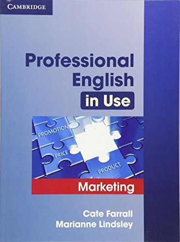 Professional English in Use Marketing with Answers..