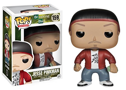 Unbekannt Funko POP Fernsehen (Vinyl): Jesse Pinkman Breaking Bad Action-Figur Funko POP Television (Vinyl): Breaking Bad Jesse Pinkman Action Figure (Jesse Figur)