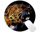 Yanteng Tappetini per Mouse Rotondi Personalizzati da Gioco, padiglioni Rotondi per Gatti Rotondi