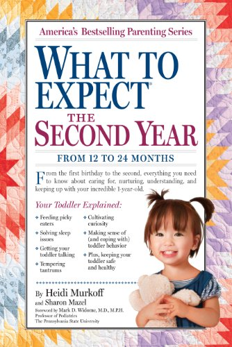 What to Expect: The Second Year: For the 13th to 24th Month (What to Expect (Workman Publishing)) (Safety First Neugeborenen)