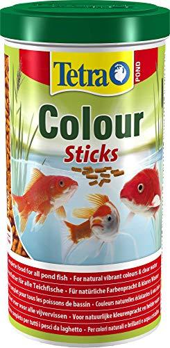 Tetra TetraPOND Colour Sticks Mangime per Pesci, 1 L