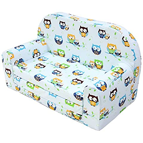 Hikenn Kindersofa Kindersessel Kinder Kindermöbel Klappsessel Minisofa Sofa Couch (Design