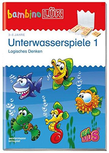 bambinoLÜK-System: bambinoLÜK: Unterwasserspiele 1