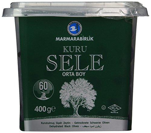 Marmarabirlik Kuru Sele Schwarze Oliven Pet 400gr.