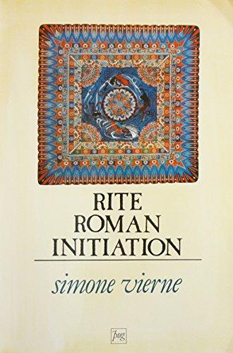 Rite, roman, initiation