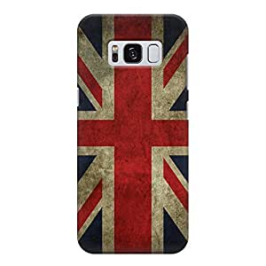 England old effect flag Samsung Galaxy S8 Printed back cover. Polycarbonate Hard case with premium quality and matte finish phone cases