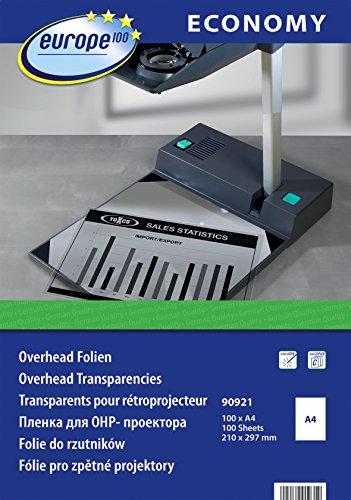 europe100 Overheadfolie 100 Blatt A4