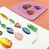 kemai The Quilters Grid Guide Quilling Board mit Pins Lagerung für Papierfalten Basteln Papier Büttenpapier Handwerk Werkzeug DIY Paper Tool