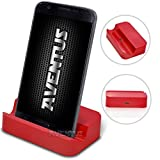 Aventus Aldi Medion Life P5004 Rot Micro USB Mini Tragbare Ladestation Cradle Desktop-Ladestation