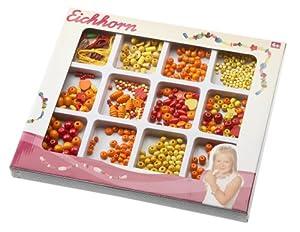 Simba Eichhorn 100003422-Madera de Perlas Set, Grande, Surtidos