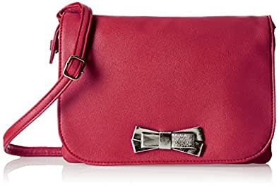 Caprese Women's Christina Sling Bag (Carmine)
