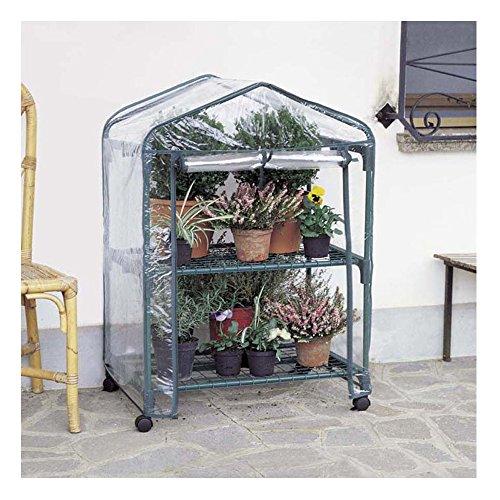 Betty Garden Serra NEW da Terrazzo a 2 Ripiani Robusta con Ruote ...