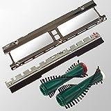 Service Set Blech Frontbürste Bürsten Ersatzbürsten passend für Vorwerk Kobold 130 131 135 mit Elektrobürste EB 350 und EB 351