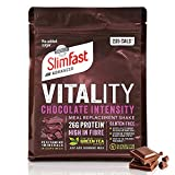 SlimFast Advanced Vitality Chocolate Intensity Meal Replacement Shake I Kalorienarmer Abnehm-Shake...