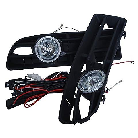 Kundenspezifische OEM Ersatz 2x Front Clear Lens Bernstein Nebelscheinwerfer Lampe