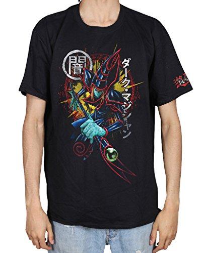 Shirt Oh Yu T Gi (Cosmic Saint Herren T-Shirt schwarz schwarz Gr. L, schwarz)