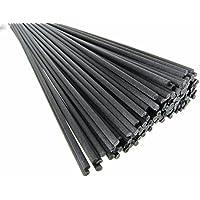 Breath Me-TM-Diffusore di ricambio in fibra di 30,48 (12 cm X 3 mm, colore: nero, Tessuto, nero, 50 Pcs