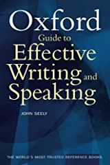 The Oxford Guide to Effective Writing and Speaking Paperback