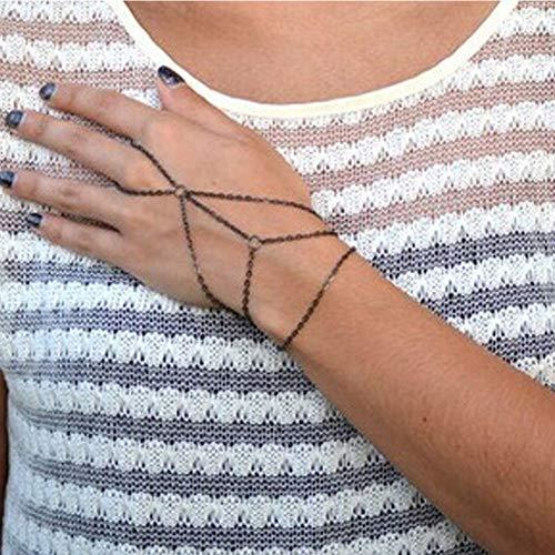 Fliyeong Mode Pop Armband Teen Beauty Trend sogar Daumen Armband -