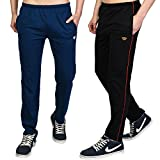#10: White Moon Men's Cotton Trackpants (Pack of 2)