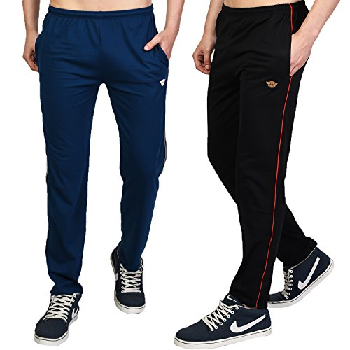 White Moon Men's Stylish Slim Fit Jogger Lower for Gym, Running, Athletic,...