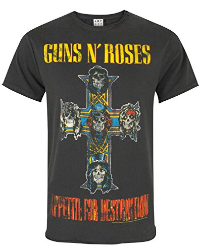 Amplified Guns N Roses Appetite for Destruction Men 's T-Shirt nero XXL