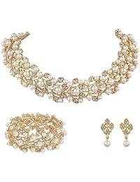 Brautschmuck set gold  Schmucksets für Damen | Amazon.de