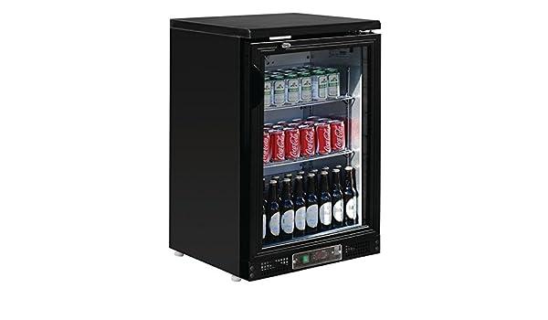 Minibar Kühlschrank Polar : Polar schwarze display getränkekühlschrank kühlvitrine