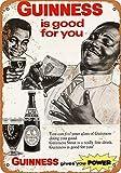 Froy Guinness Giives You Power Birra Mur Tôle Signe Rétro Fer Affiche Peinture Plaque Tôle Vintage Art Personnalisé Créativité Décoration Artisanat pour Café Bar Garage Maison